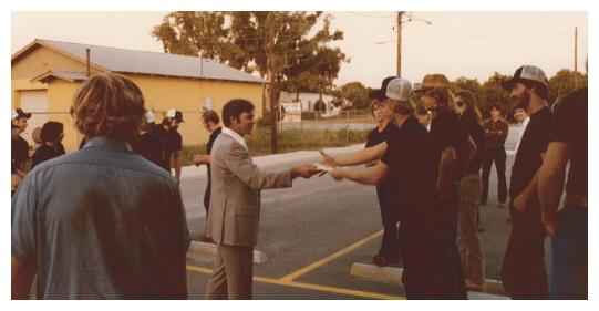 Wiginton Team members shaking hands